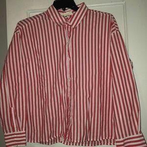 H & M Striped Top - EUC